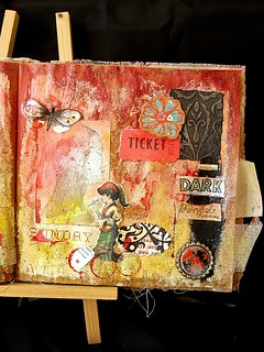 This is Halloween: Art Journal page