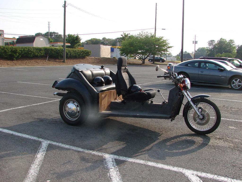 ... Homemade VW trike motorcycle   by joker1020