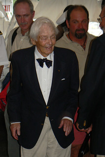 Mr. Olin J. Stephens, 99 years, designer of over 1000 yachts