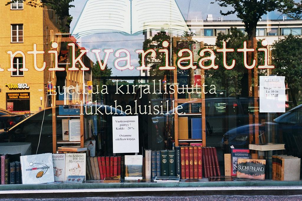 Antikvariaatit Helsinki