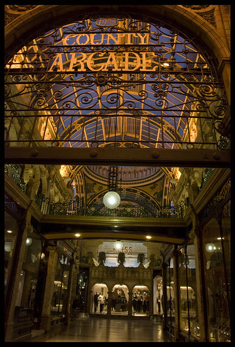 Greetings from the County Arcade, Leeds