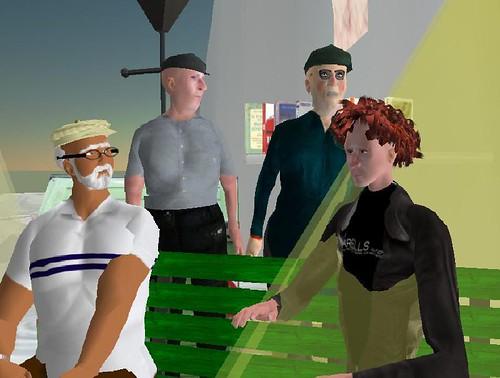 """Presentazione Umarells su Second Life del 5 giugno 2007   by Danilo """"Maso"""" Masotti"""