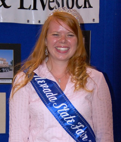Nevada State Fair Princess Melissa