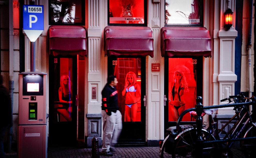 Street amsterdam light red Amsterdam Red