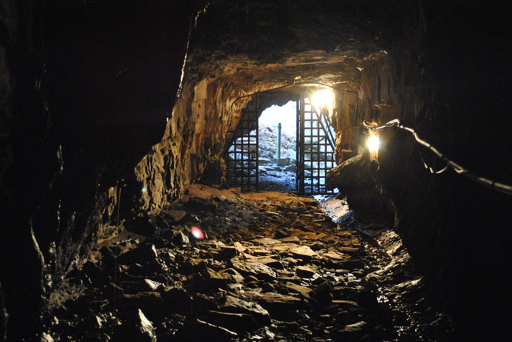 Bell Witch Cave Front Tunnel | Eventually, news reached Nash