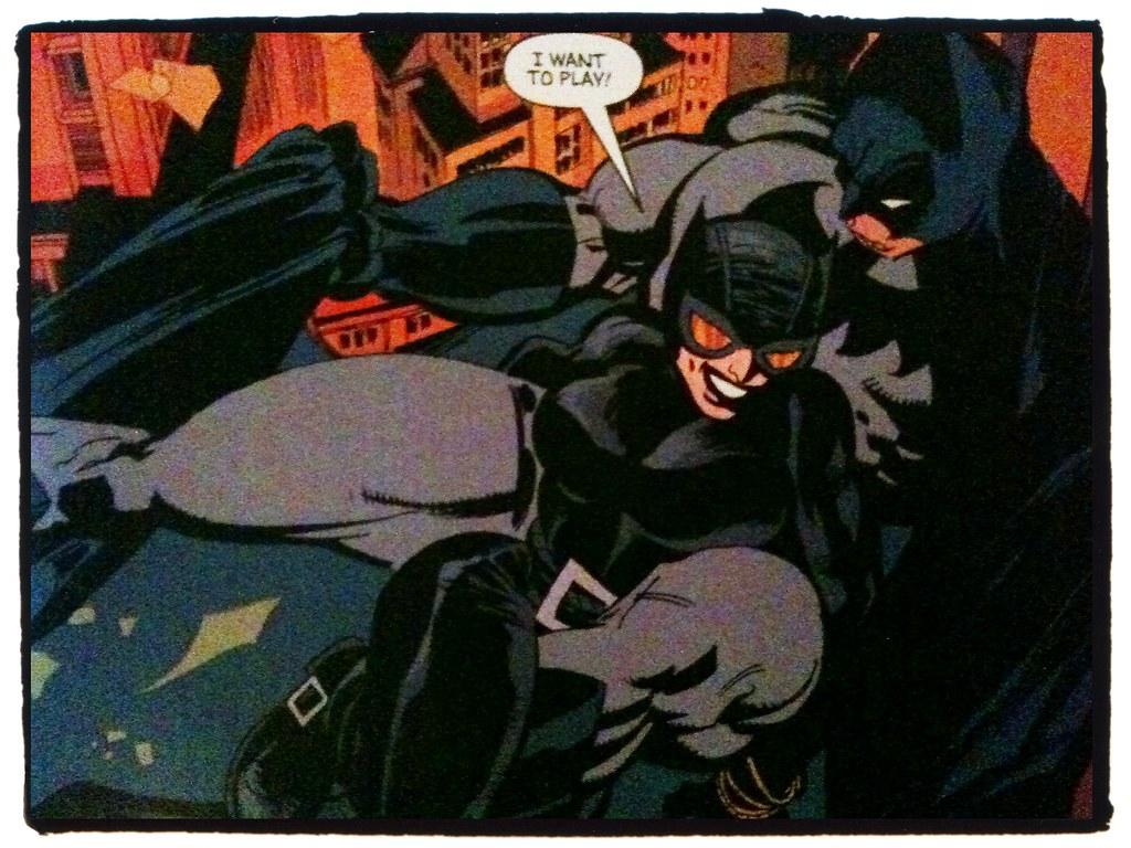 Catwoman dating Batman