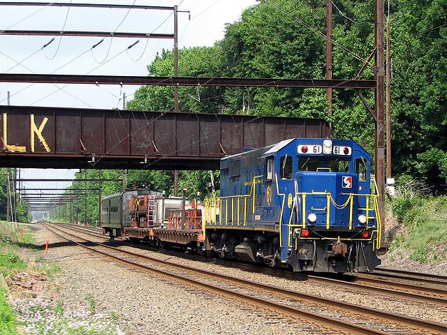 Septa Wire Train Spax 61 This Unique Republic Locomotive R Flickr