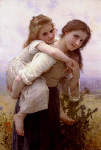 bouguereau-Fardeau_agreable | by theprincessacademy