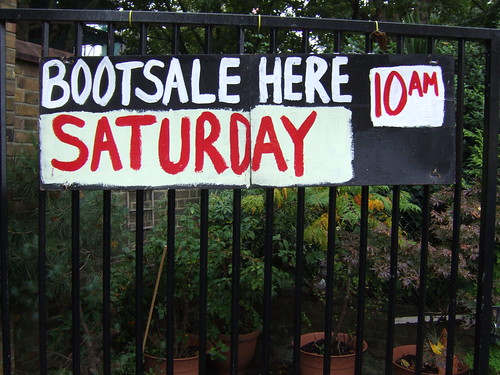 SATURDAY BOOTSALE | by J Mark Dodds [a shadow of my future self]