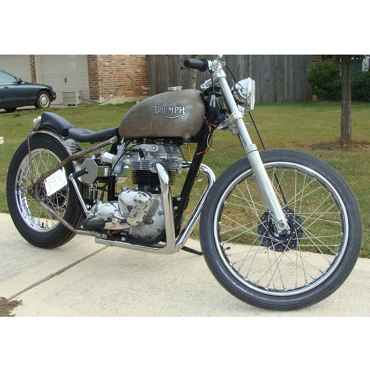 triumph-tt-exhaust-pipes-photo-5 | Lowbrow Customs | Flickr