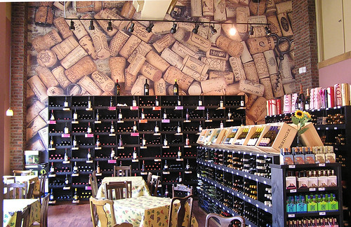 Hippo's Deli Wine Wall | by Howdy, I'm H. Michael Karshis