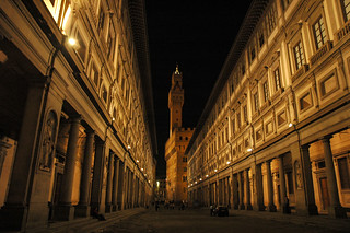 Galleria degli Uffizi at night | by Pig Flyin'