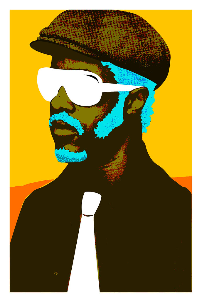 Stevie Wonder vector | A kind of surreal vector I made from