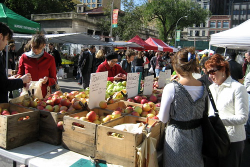 NYC - Union Square: Greenmarket in the Fall | by wallyg