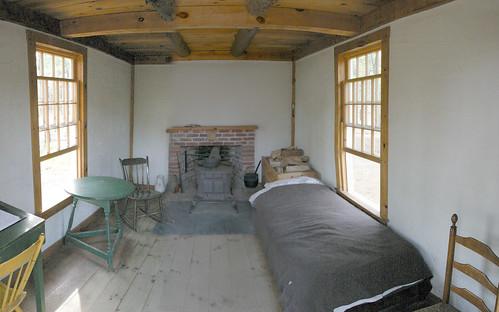 050506 Walden Thoreau Cabin 1   by Namlhots