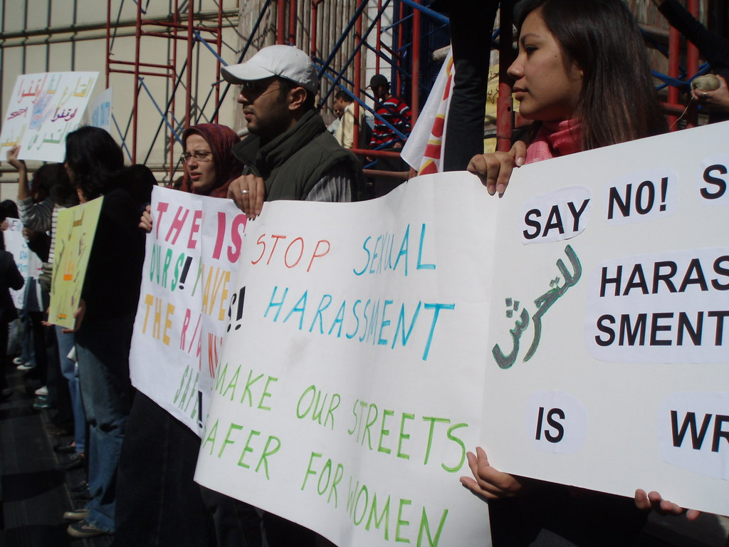Anti-Sexual Harassment, Anti-Police Failures Demo, Press S… | Flickr