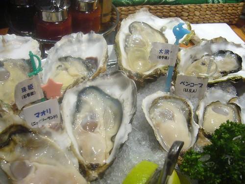 Fresh oyster / Jackpot, Shinjuku