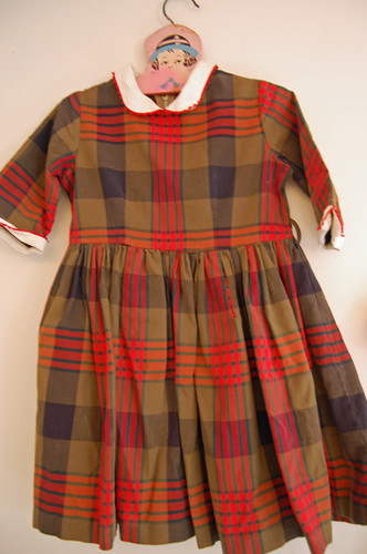 recent thrifting: vintage dress | by SouleMama