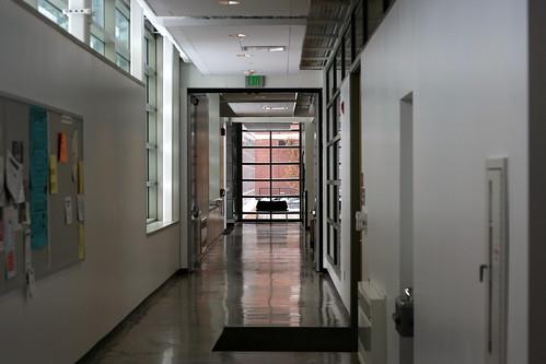 Art and Design hallway