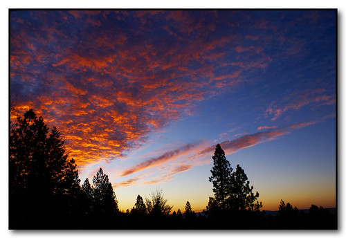 autumn fall sunrise washington spokane
