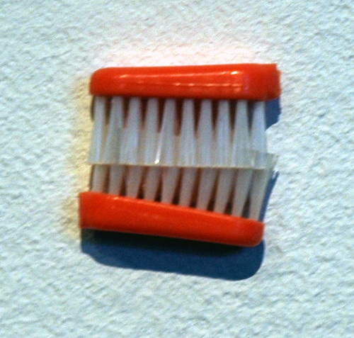 Byong Ok Koh - Toothbrush - Humor Us at the Municipal Art Gallery | by Marshall Astor - Food Fetishist