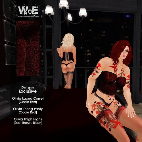 ":. WoE .: ""Rouge Exclusive"" Party! 