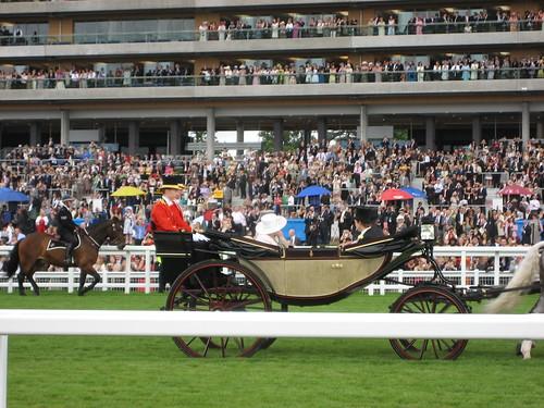 The Royal Procession at Ascot   by David Jones