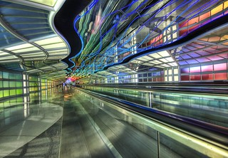 The Underground Peoplemover to the International Terminal | by Trey Ratcliff