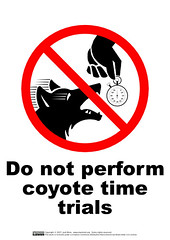 Do Not Perform Coyote Time Trials | by guppiecat