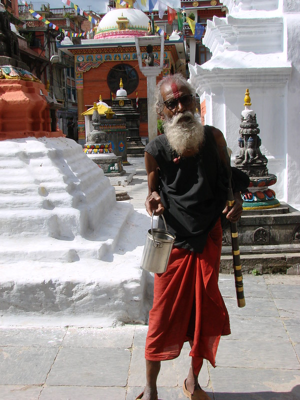 Kathmandu Beggar