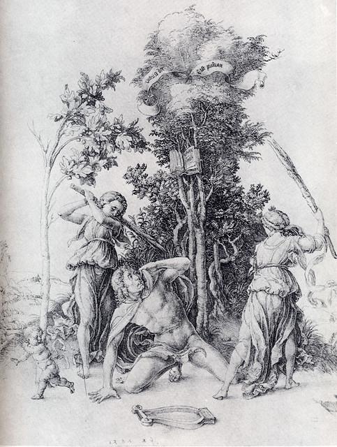 +1494 Ménades despedazan a Orfeo