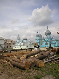 Ukrainian Countryside Church