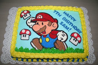 Super Mario Cake | by Jens Creations