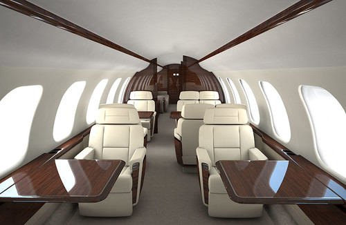 Bombardier Global 7000 interno