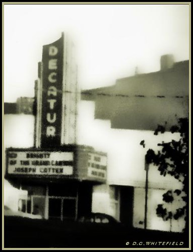 The Decatur Theatre by -WHITEFIELD-