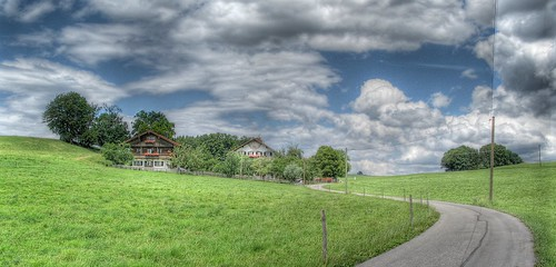 HDR: Bavarian Alpine Upland Farmhouse by Dirk Paessler