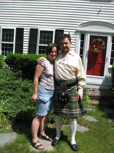 In my new kilt, with Erin | by hober