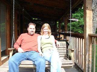 Craig and me on the swing | by niseag03