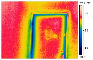 Door Air Leak | by CBC || Thermal