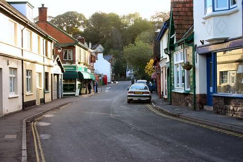 Porlock Exmoor Oct 2004