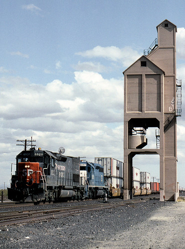 new railroad tower train mexico rail railway nm coal deming