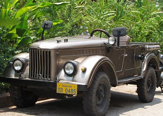 Luang Prabang - Army Jeep | by FollowOurFootsteps