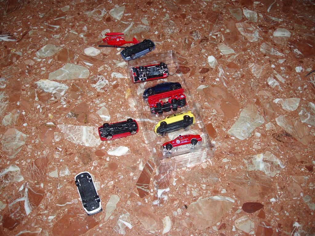 coches volcados