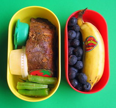 Chocolate chipotle rib lunch for preschooler