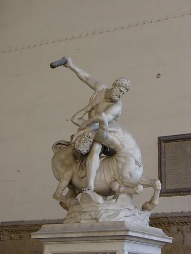 Hercules Beating the Centaur Nessus | by rjhuttondfw