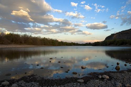 arizona sky clouds landscape desert riverbed goodyear gilariver nikkor18200mm