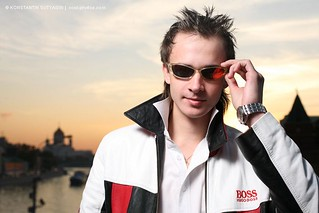 Portrait of a handsome young guy in cool sunglasses | by Konstantin Sutyagin