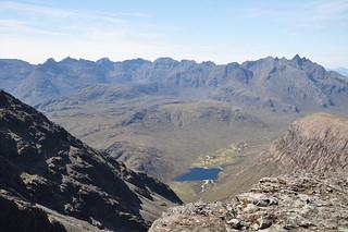 The Cuillin Ridge from Clach Glas