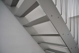 interior stairs, bjarke ingels group, BIG, bighouse or 8-tallet, copenhagen 2006-2010 | by seier+seier