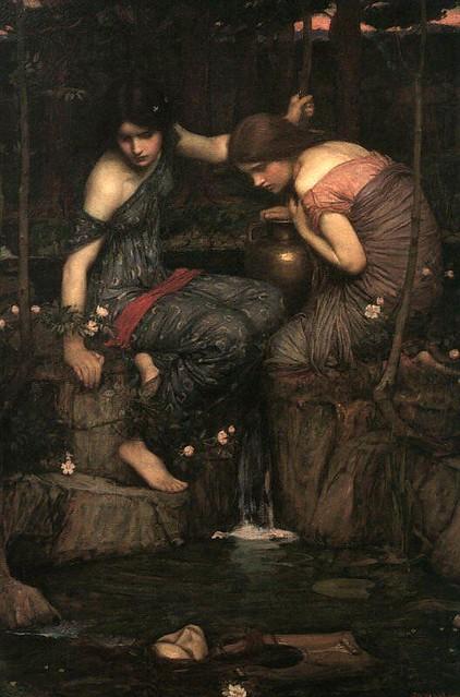 +1900 Las Ninfas encuentran la cabeza de Orfeo